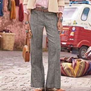 Sundance Andover Linen Striped Pant